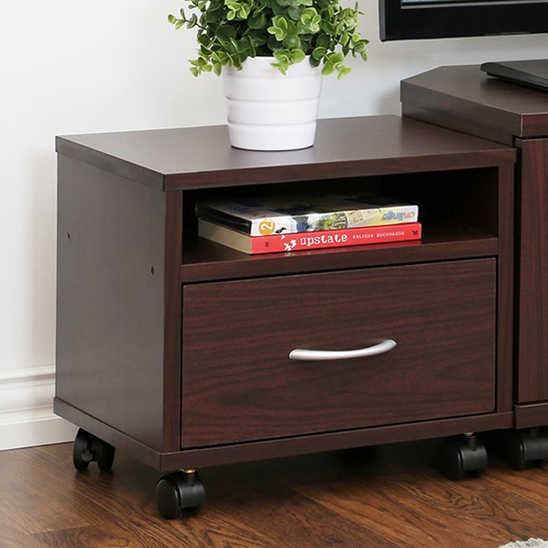 Wonderful 1 Drawer File Cabinet Wood 1 Drawer Filing Cabinets Youll Love Wayfair