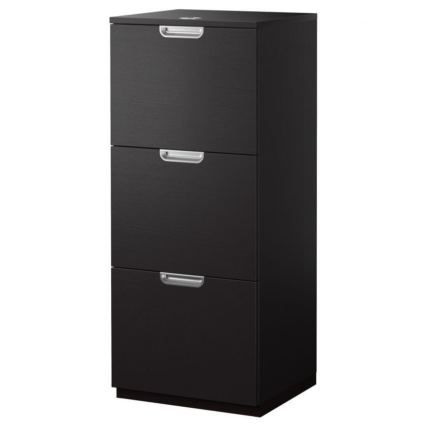 Wonderful 3 Drawer Wood File Cabinet With Lock Top Wooden File Cabinets With Drawers Drawer Wood Cabinet Black