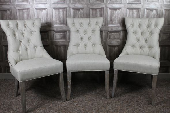 Wonderful Armchair Style Dining Chairs Dining Room Chairs French Style In Antique White