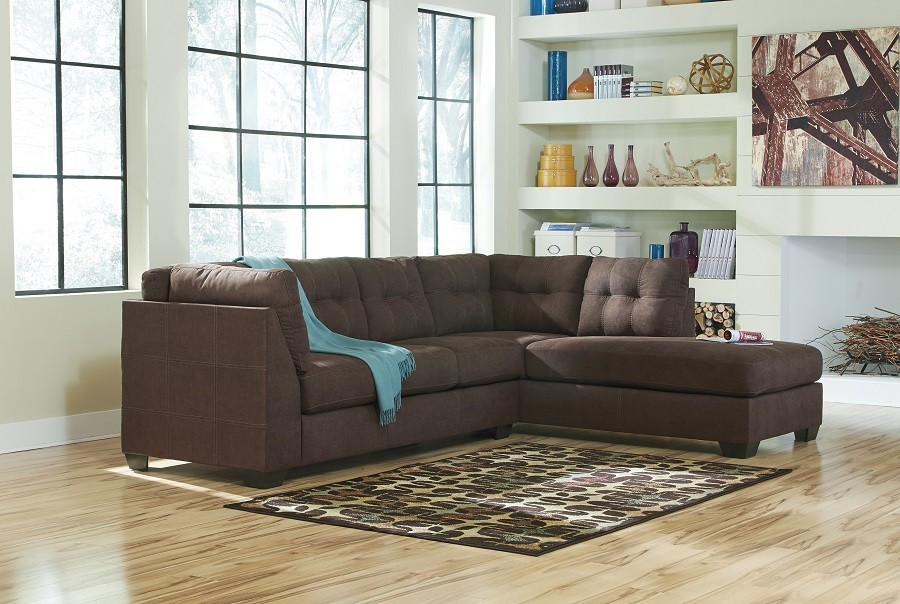 Wonderful Ashley Two Piece Sectional Sectionals