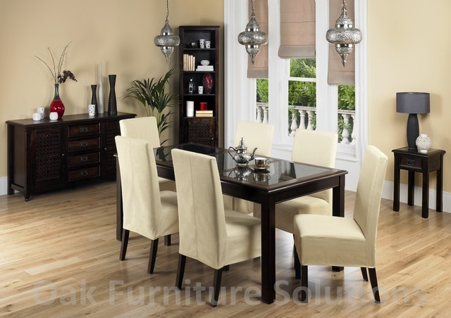 Wonderful Black And Cream Dining Chairs Cream Dining Room Chairs Insurserviceonline
