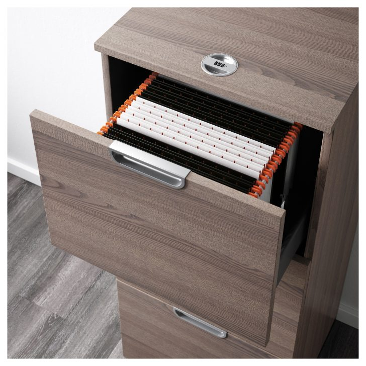 Wonderful Black Brown File Cabinet Office Handsome Ikea Galant Storage Combination With Filing