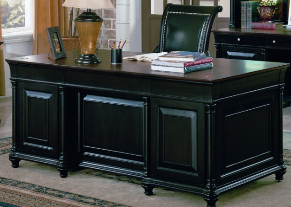 Wonderful Black Office Furniture Chic Black Executive Office Desk Executive Office Desks Clearance
