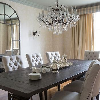 Wonderful Black Tufted Dining Room Chairs Best 25 Transitional Dining Chairs Ideas On Pinterest