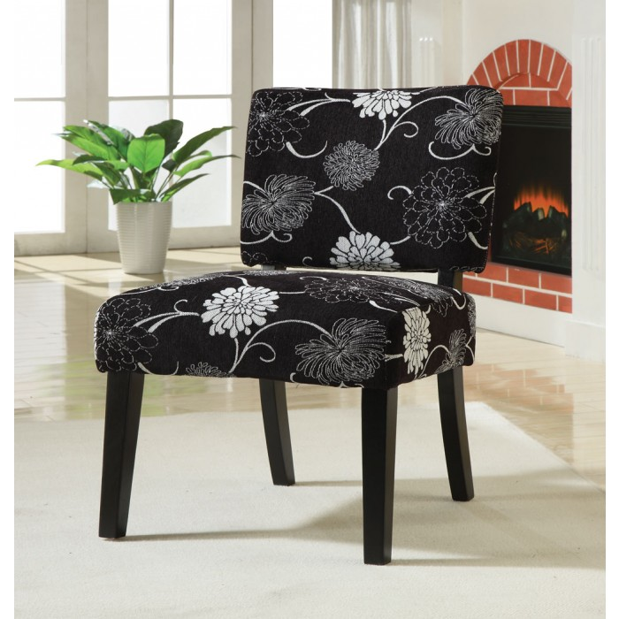 Wonderful Black White Accent Chair Black And White Floral Accent Chair Chairs Seat N Sleep