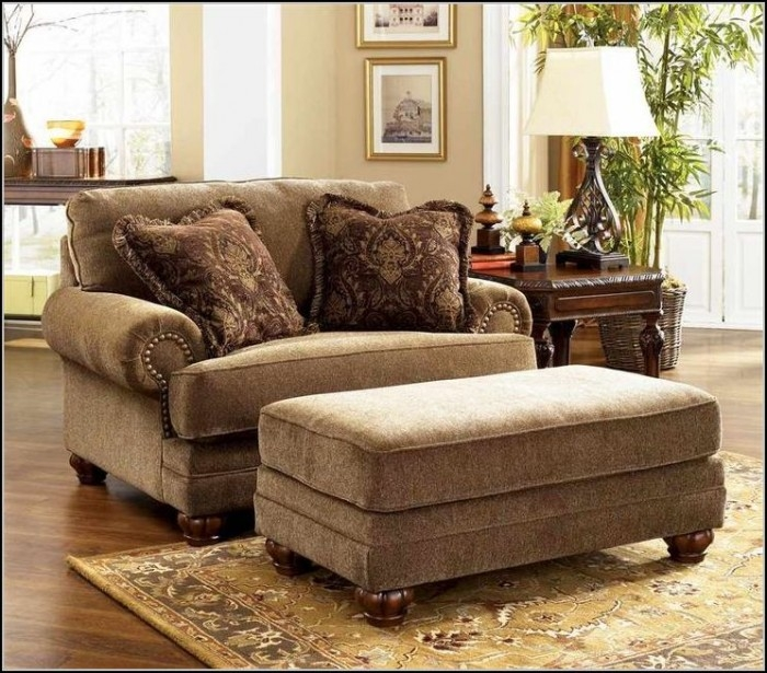 Wonderful Blue Oversized Chair And Ottoman Beautiful Oversized Chairs With Ottoman Oversized Chairs With