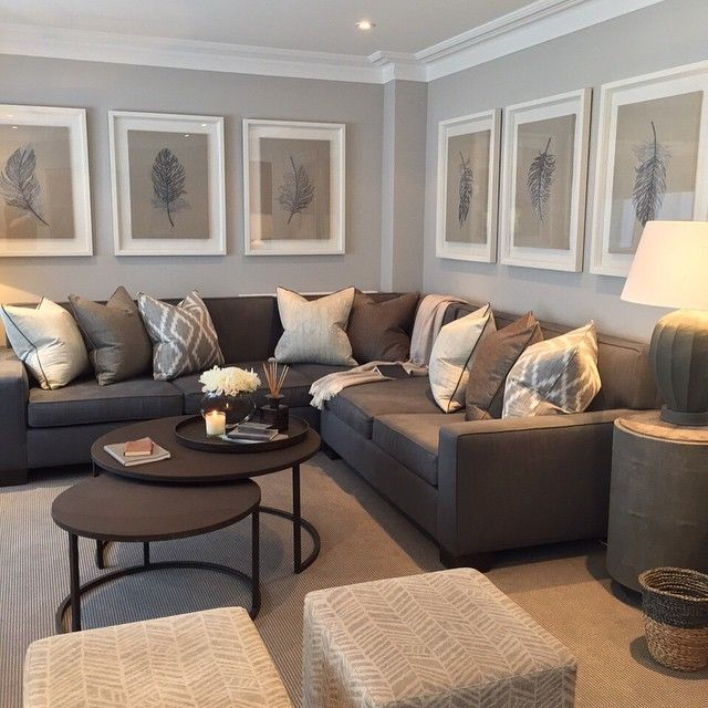 Wonderful Brown And Grey Sofa Best 25 Sectional Sofa Layout Ideas On Pinterest Coffee Table