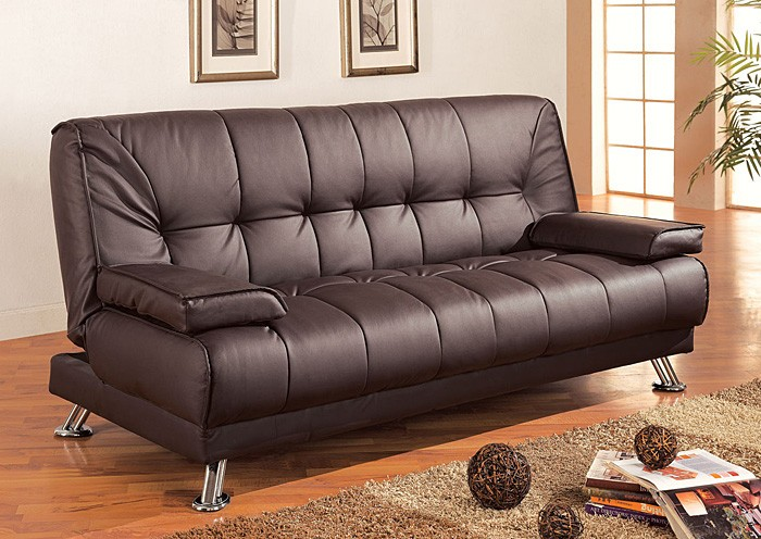 Wonderful Brown Futon Sofa Bed Brown Futon Sofa Bed Ss Furniture Inc