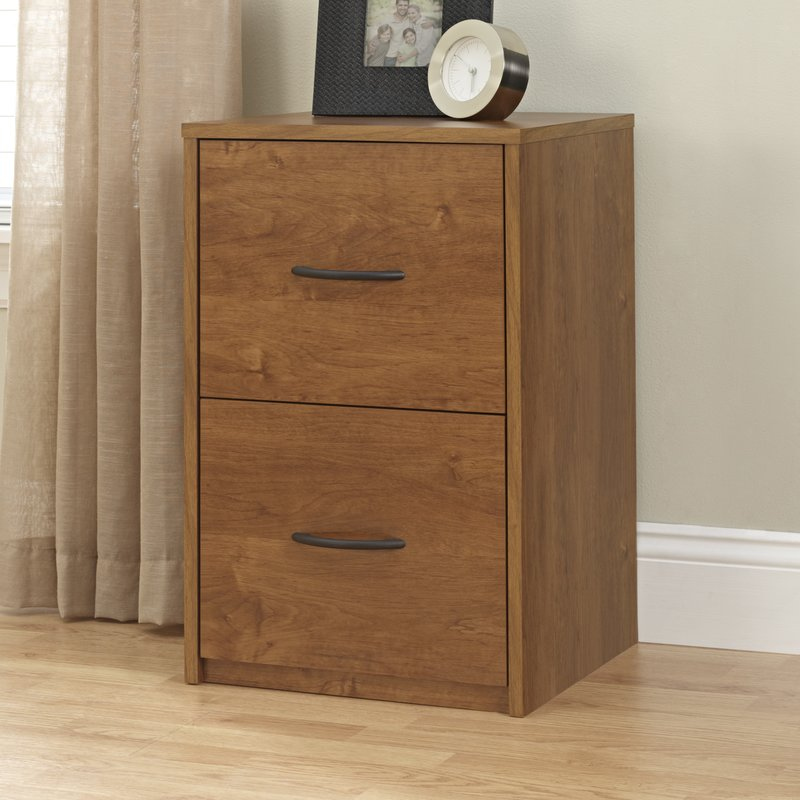Wonderful Brown Metal File Cabinet Wood Filing Cabinets Youll Love