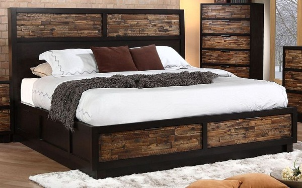 Wonderful California King Platform Bed With Storage Drawers King Size Platform Bed With Storage Drawers Side Home Design