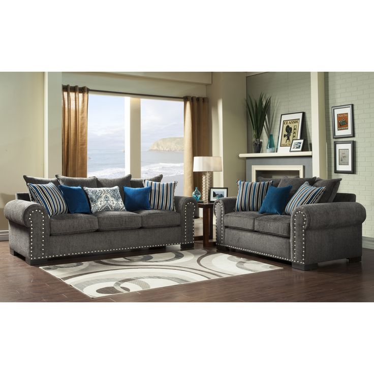 Wonderful Charcoal Grey Sofa And Loveseat Best 25 Couch Pillow Arrangement Ideas On Pinterest Accent