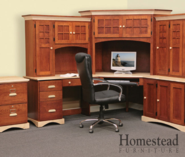 Wonderful Custom Made Desks Custom Built Hardwood Furniture Homestead Furniture Made In Usa