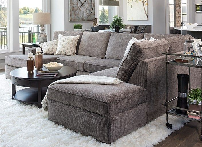 Wonderful Deep Sectional Sofas Living Room Furniture Impressive Best 20 Gray Sectional Sofas Ideas On Pinterest Family Room With Regard To Dark Gray Sectional Sofa Ordinary 1