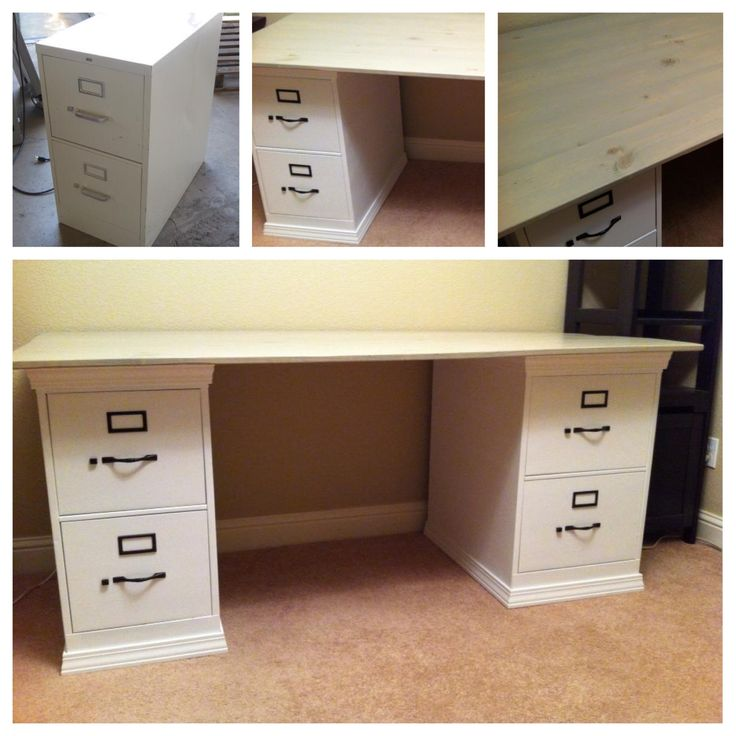 Wonderful Desk With Filing Cabinet Drawer Best 25 Desk With File Cabinet Ideas On Pinterest Filing