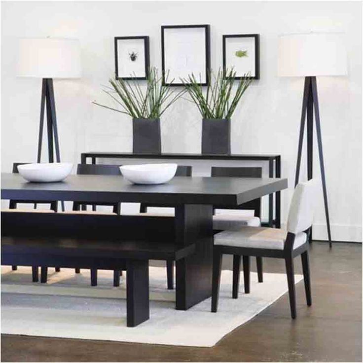 Wonderful Dining Room Table Modern Best 25 Contemporary Dining Sets Ideas On Pinterest
