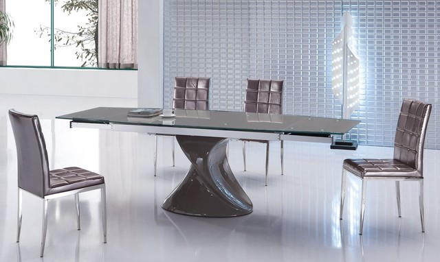 Wonderful Dining Table Extendable Modern Excellent Ideas Modern Extendable Dining Table Awesome To Do