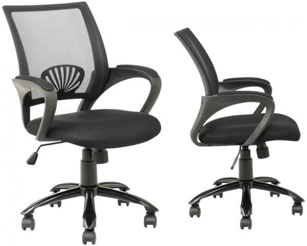 Wonderful Ergonomic Task Chair Black Ergonomic Mesh Computer Office Desk Task Chair Wmetal Base