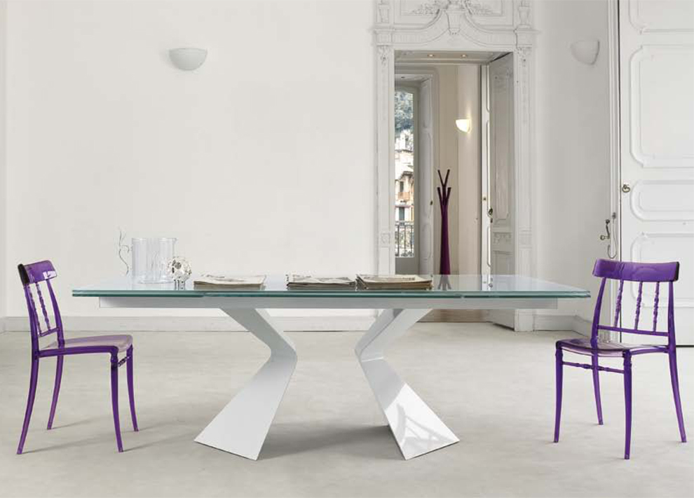Wonderful Extending Glass Dining Table And Chairs Bonaldo Prora Extending Dining Table Extending Glass Dining Tables
