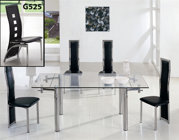 Wonderful Extending Glass Dining Table And Chairs Extending Glass Dining Room Table And Chairs Dining Room Decor
