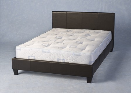 Wonderful Firm Double Bed Mattress Budget Faux Leather Bed And Mattress Combo Deal Double Faux