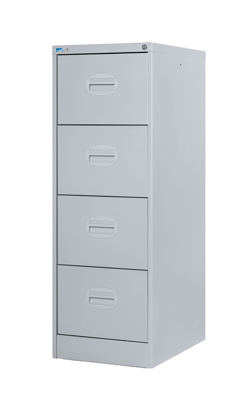 Wonderful Four Drawer File Cabinet Drawer Filing Cabinet Light Grey Lowest Price