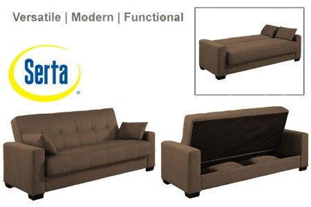 Wonderful Futon Sleeper Sofa Bed Napa Contemporary Sleeper Futon Bed Brown Sleeper Sofa The Futon
