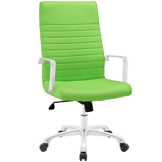 Wonderful Green Office Chair Finley High Back Office Modern Office Chair Green