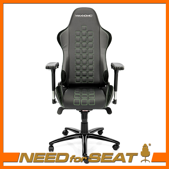 Wonderful Green Office Chair Maxnomic Computer Gaming Office Chair Quadceptor Cas Green