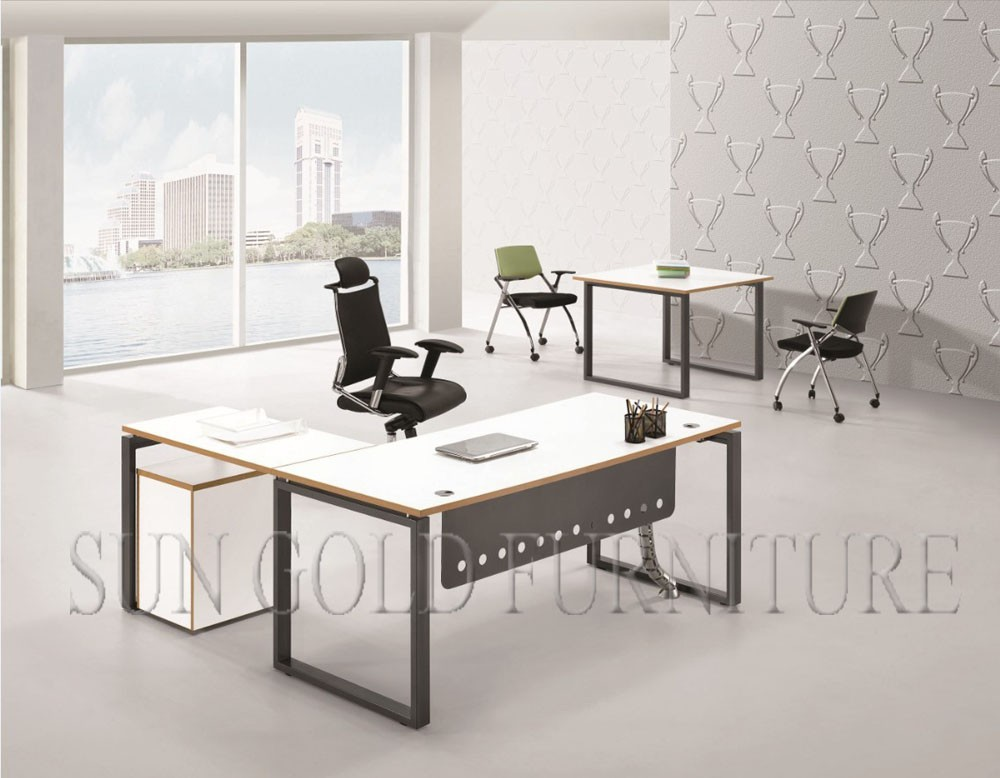 Wonderful High Office Table White High Glossy Executive Desk Office Table Specifications Sz