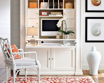 Wonderful Home Office Armoire Home Office Solutions That Dont Require An Entire Room
