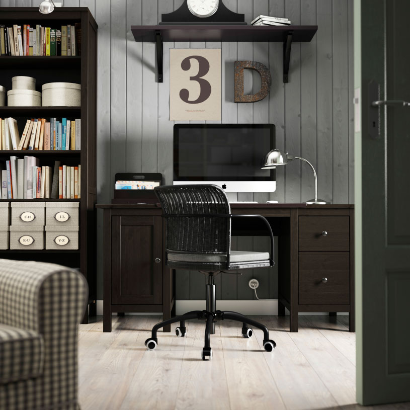 Wonderful Home Office Desk And Bookcase Choice Home Office Gallery Office Furniture Ikea