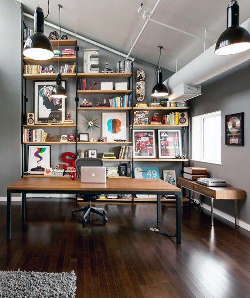 Wonderful Home Office Ideas 75 Small Home Office Ideas For Men Masculine Interior Designs