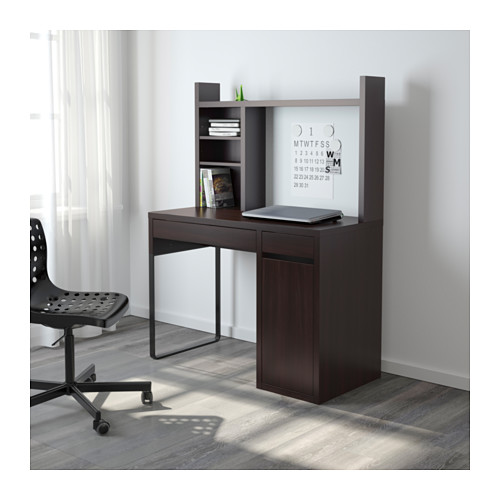 Wonderful Ikea Computer Workstation Micke Workstation Black Brown Ikea