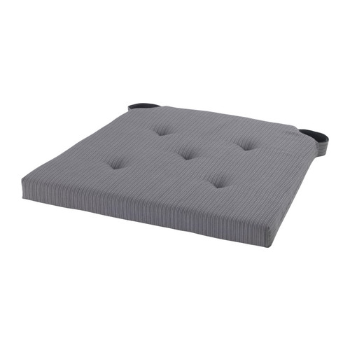 Wonderful Ikea Dining Chair Cushion Pads Justina Chair Pad Grey 3542x40x40 Cm Ikea