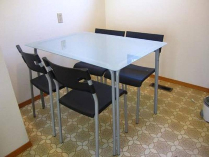 Wonderful Ikea Glass Dining Table Interesting Ikea Folding Dining Table With Dining Set Ikea