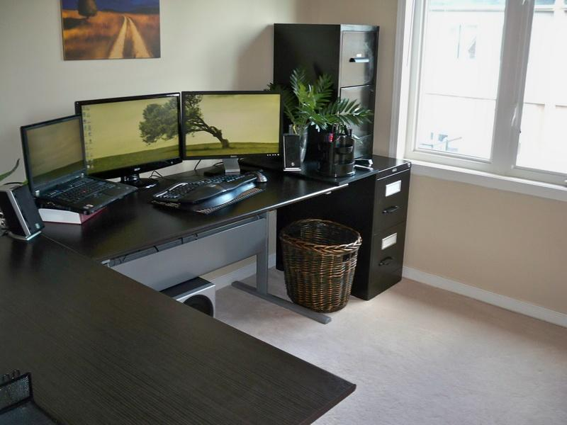 Wonderful Large Computer Desks For Home Computer Corner Desk Home All Home Ideas And Decor New