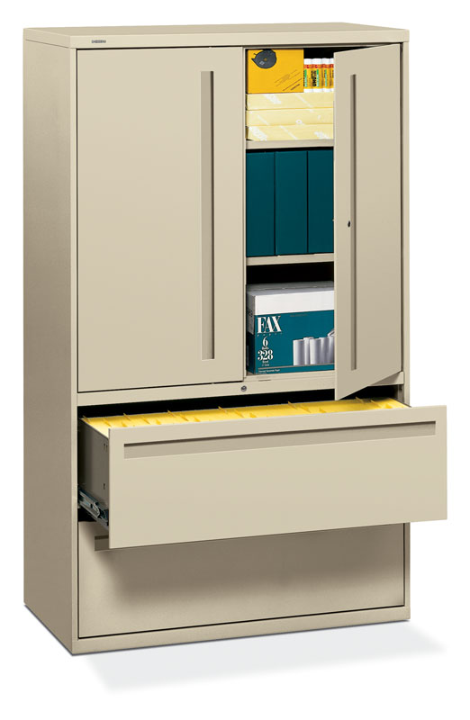 Wonderful Lateral File Cabinet With Storage Hon Brigade 700 Series 42 Inch Lateral File Storage Cabinet