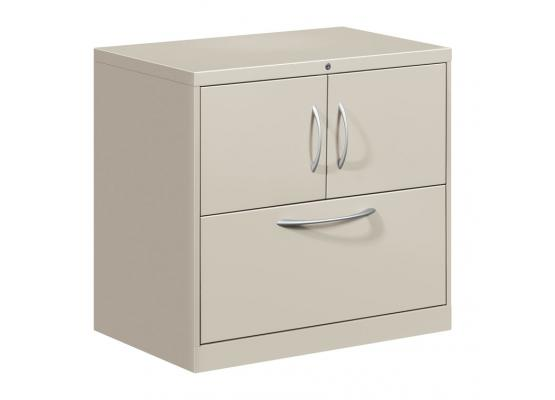 Wonderful Lateral File Cabinet With Storage Hon Flagship Storage Cabinet Lateral File Center With Doors