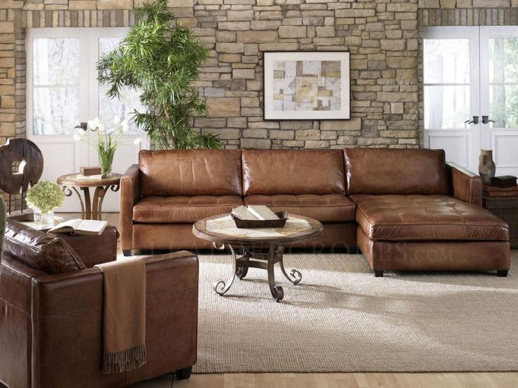 Wonderful Leather Sectional Couch With Chaise Inspiring Rustic Leather Sectional Sofa Best Ideas About Leather