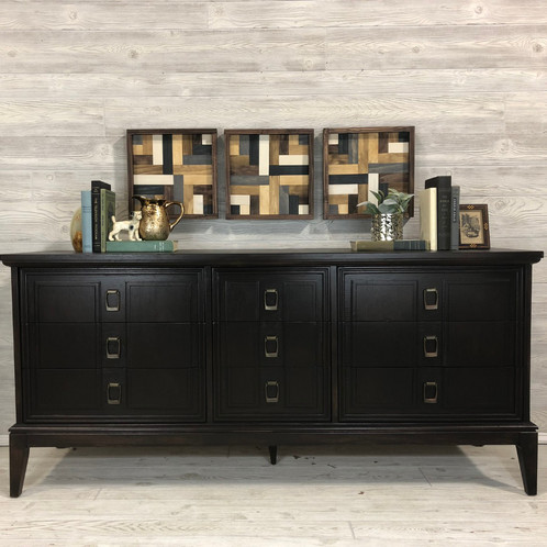 Wonderful Long And Low Dresser Java 9 Drawer Long Low Dresser