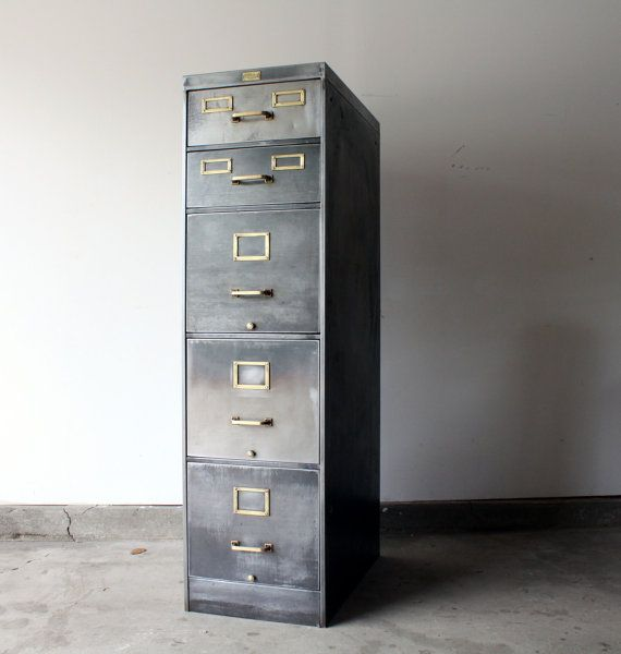 Wonderful Metal Filing Cabinet Best 25 Steel Filing Cabinet Ideas On Pinterest Desk With File