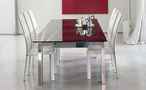 Wonderful Modern Dining Room Tables Modern Dining Room Set Bonaldo