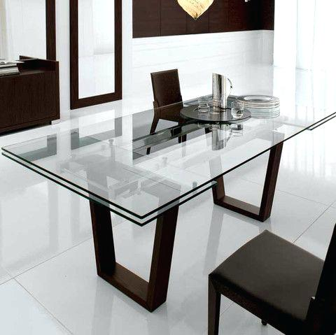 Wonderful Modern Extension Dining Table Glass Extension Dining Tables Mitventuresco