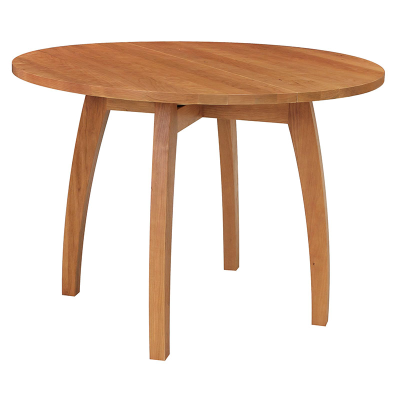 Wonderful Modern Pedestal Table Handmade Vermont Modern Pedestal Table Round Solid Wood Table