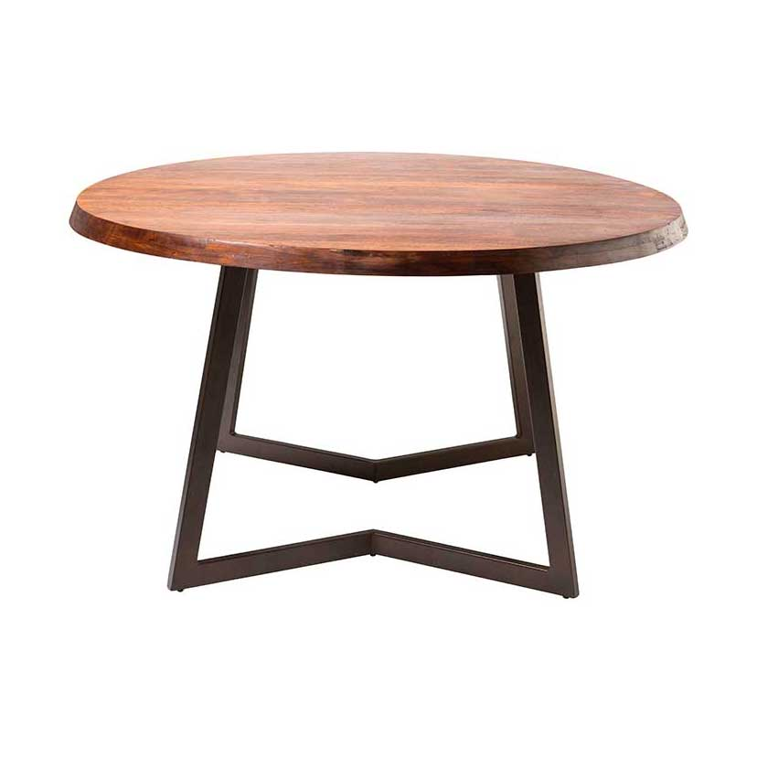 Wonderful Modern Round Wood Dining Table Belem Modern Round Dining Table Small Moes Home