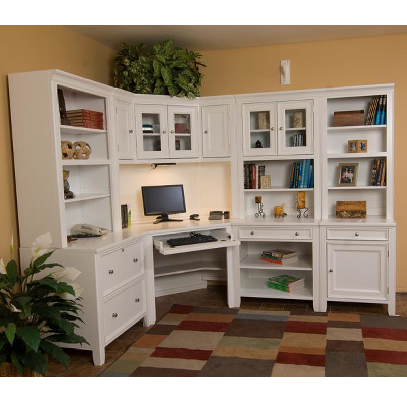 Wonderful Modular Home Office Cabinets Home Office Roomors