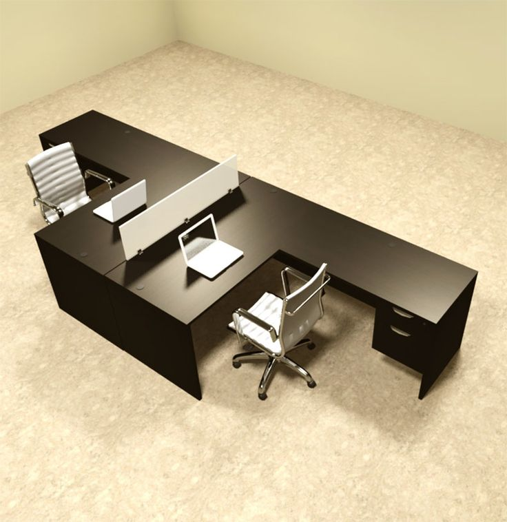 Wonderful Office Furniture For Two Best 25 Two Person Desk Ideas On Pinterest 2 Person Desk Home