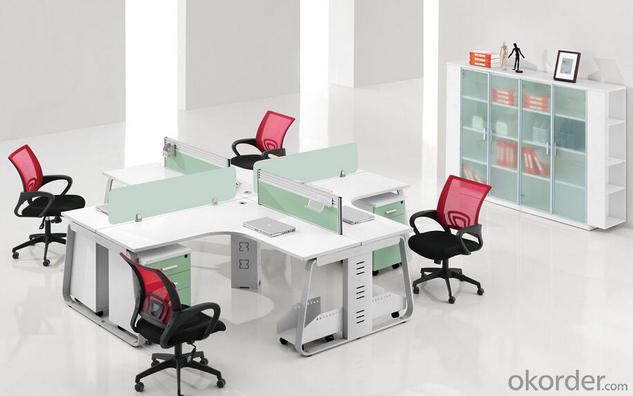 Wonderful Office Furniture Work Table Buy Office Furniture Work Station For 4 People Pricesizeweight