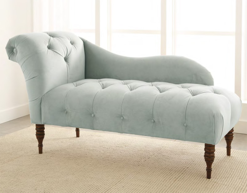 Wonderful One Arm Chaise Lounge District17 One Arm Tufted Chaise Lounge Chairs Sofas