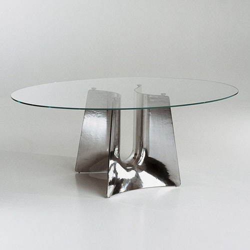Wonderful Oval Modern Dining Table Cerruti Baleri Bentz Modern Oval Dining Table Stardust